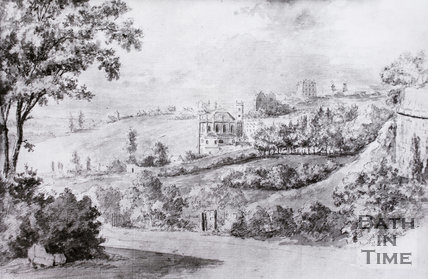 All Saints' Chapel, Lansdown, Bath c.1800