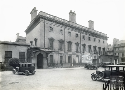 The Assembly Rooms from the south, Bath c.1931