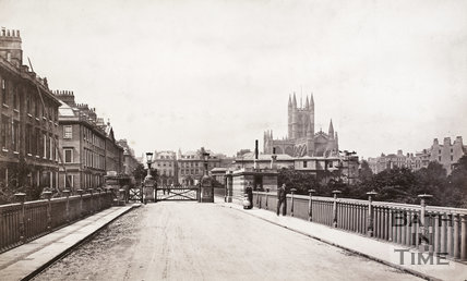 View from the North Parade, Bath 1883