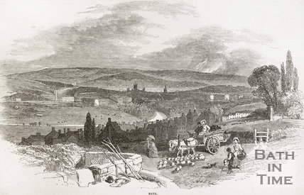 View of Bath from the South West