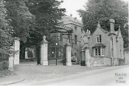 Entrance to Kingswood School, 1969