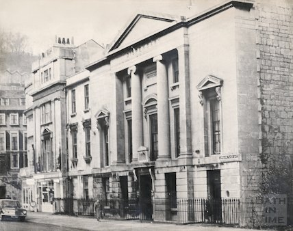 The Eastern Dispensary, Cleveland Place East, Bath 1965