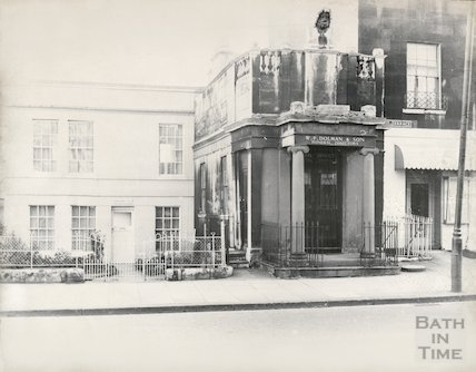 Former Ear and Eye Hospital, Walcot Terrace, London Road, Bath, October 1965
