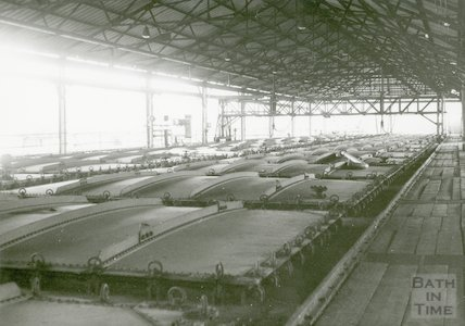 Bath Gas Works, purifying boxes, June 1971