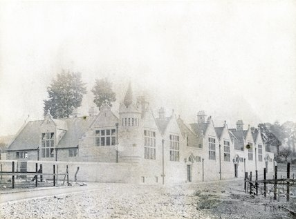 A very early photograph of South Twerton School, c.1890s