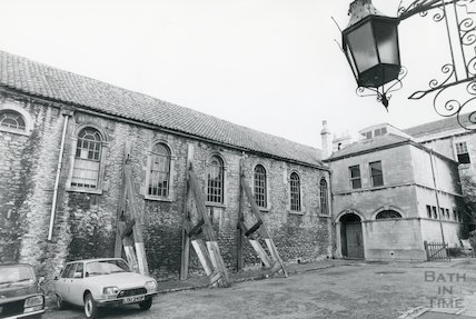 Christchurch Hall, Julian Road, 1977