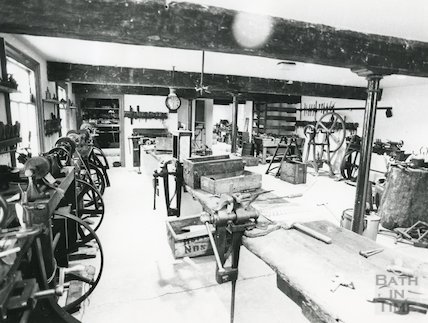 Brass Finishing Shop, Camden Works Industrial Museum, 1978