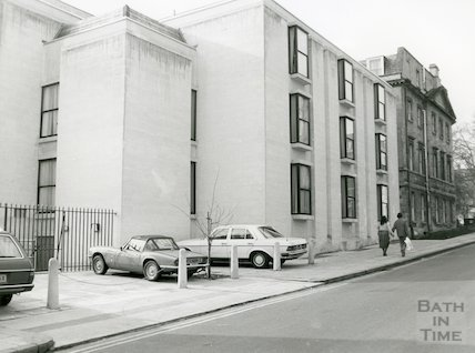 Francis Hotel new extension, Barton Street, May 1980