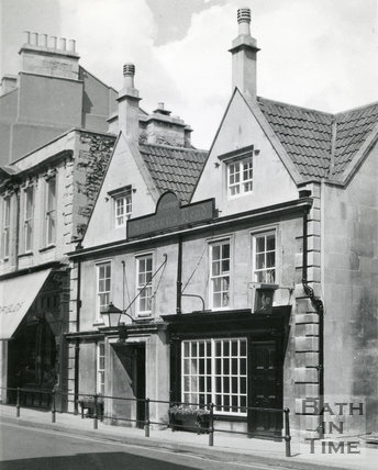 Saracen's Head, 42, Broad Street, Bath c.1960