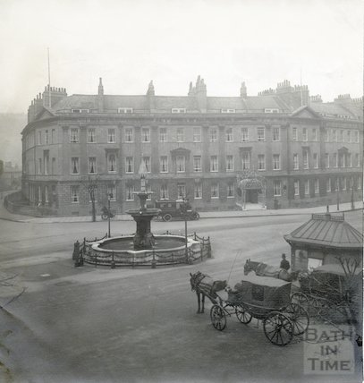 Pulteney Hotel from Laura Place c.1912