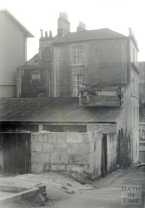 Long Acre Tavern Brewery (rear) January, 1969