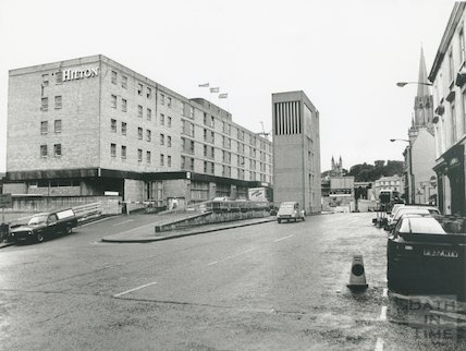 Hilton Hotel, formerly The Beaufort October, 1988