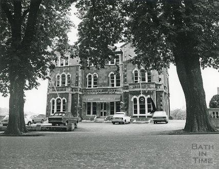 The County Hotel, Pulteney Road, July, 1973