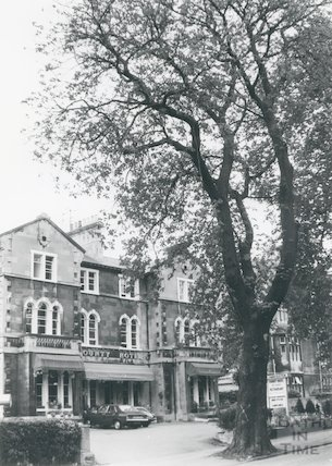 The County Hotel, Pulteney Road, September, 1981