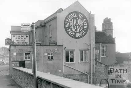 The Bladud Arms, Gloucester Road, Lower Swainswick, Bath, 1982