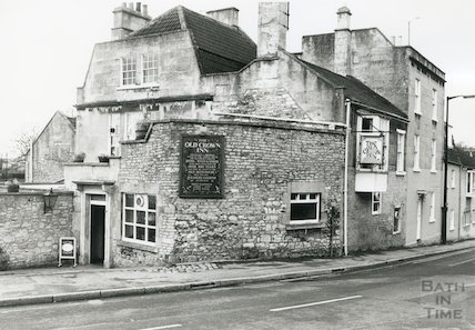 The Old Crown Inn, Upper Weston, 1989