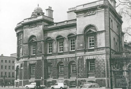 Guildhall from South including lane to back of building, c.1980s