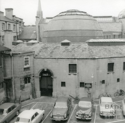 Guildhall Market and car park, c.1960s