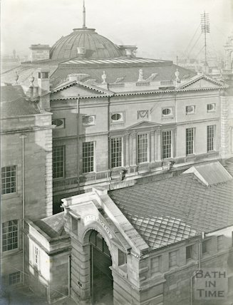 Guildhall and fire station, Bath c.1903