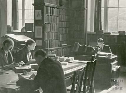Bath Reference Library, Bridge Street before alterations, 1939