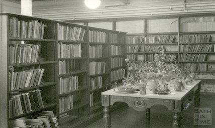 Former Children's Library before conversion, 1955