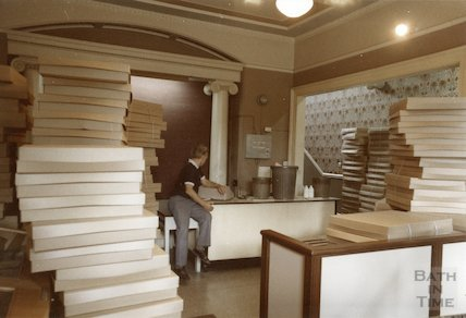 Vestibule of the Reference Library, Queen Square, 1984