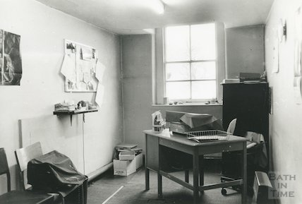 Reference Library, Queen Square - typist's room, top floor March, 1990 prior to move to Podium