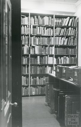 Reference Library, Queen Square - stack room March, 1990 prior to move to Podium