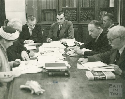 Bath Municipal Library Book Selection Committee, c.1950s