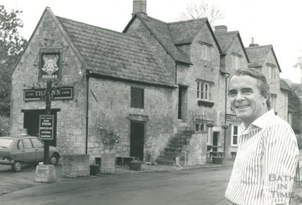 Stephen Turner, landlord of the Inn at Freshford, 30 October 1993