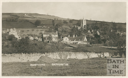 View of Northend, Batheaston, c.1910