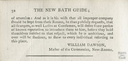 Regulations for the Company in Bath, 1780 part3