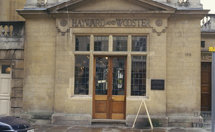 Hayward & Wooster Building, Walcot Street, Bath, May 1993