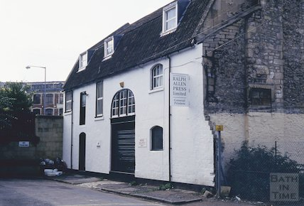 Ralph Allen Press, Milk Street, October 1993