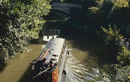 The Kennet and Avon Canal, Sydney Gardens, Bath October 1993