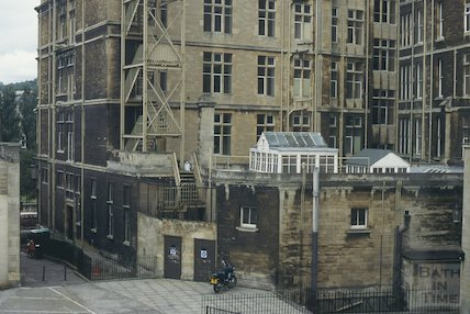 Rear of the Empire Hotel, October 1994