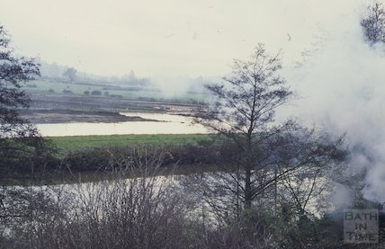 Batheaston Meadow flood, December 1994