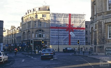 Christopher Hotel, High Street, Bath, January 1997