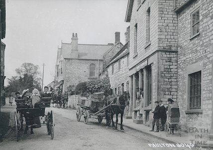 Church Road, Paulton 1890