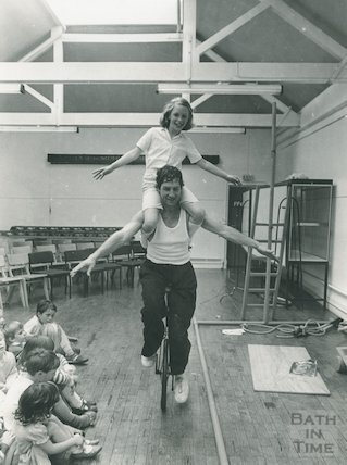 Circus Skills by John Lee at Bath Reference Library, August 1985
