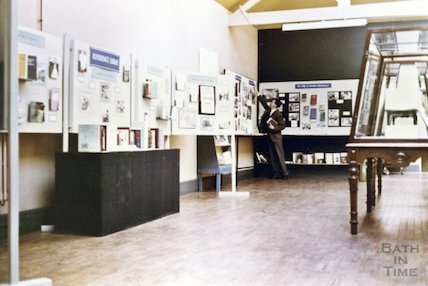 National Library Week Exhibition, Moore Room, Queen Square, 1966