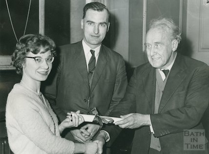 Presentation of Associateship to a Member of Staff, Municipal Library, 1961