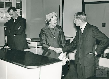 Lending Library Extensions Opening Ceremony, June 1965