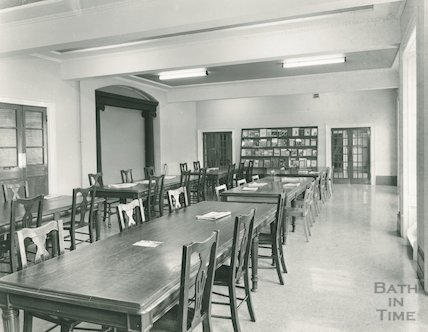 Reading Room, Reference Library, Queen Square, March 1964