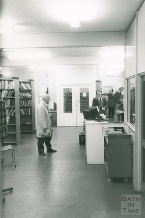 Lending Library, Bridge Street, Lower Floor and Record Library, March 1990