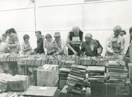 Book Sale in Moore Room, Reference Library, 29th and 30th June 1984