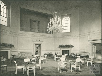 Assembly Rooms, the Octagon Room, 1939