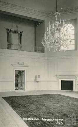 The Assembly Rooms, the Octagon Room, October 14 1938