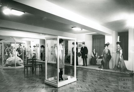 Modern Room, Museum of Costume, Bath c.1970s?