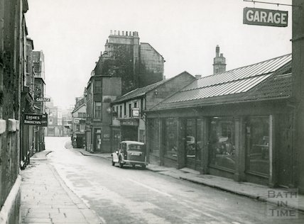 Whiting's Garage, Barton Street, Bath c.1930s